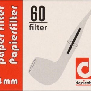 Denicotea 4mm Papierfilter