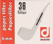 Denicotea 6mm Papierfilter