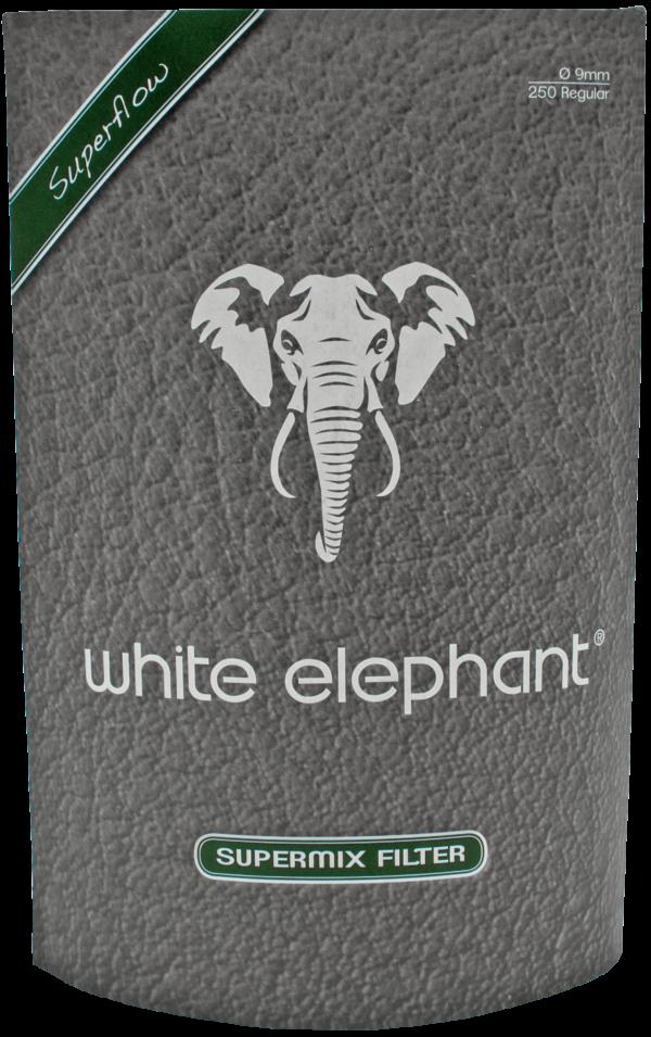 White Elephant Supermix Filter 9mm 250er Packung